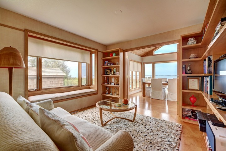 Interiér domu, Kim Cattrall, East Hampton