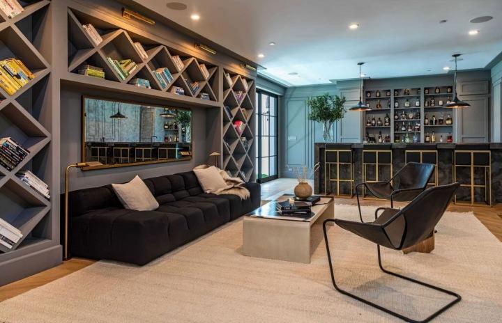Interiér domu Rihanny v Beverly Hills