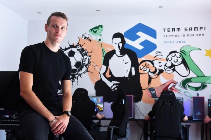 Jakub Jankto, majitel herní organizace TeamSampi