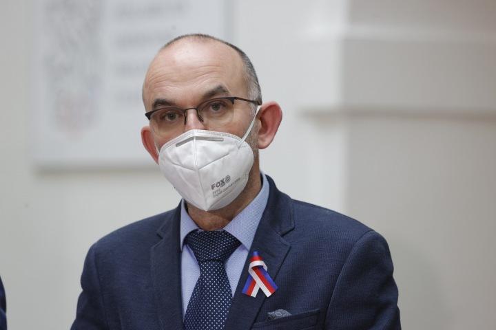 Ministr zdravotnictví Jan Blatný