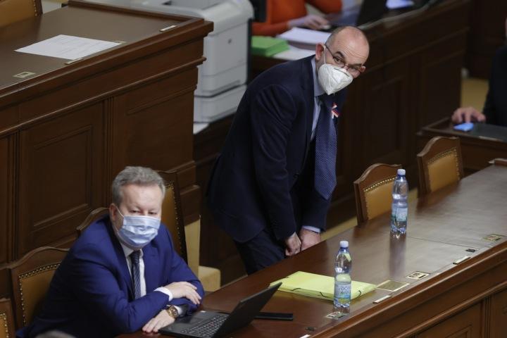 Ministra zdravotnictví Jan Blatný.