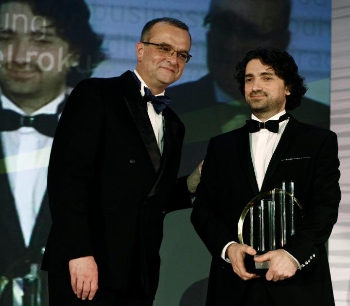 Miroslav Kalousek (vlevo) a Jannis Samaras (vpravo)