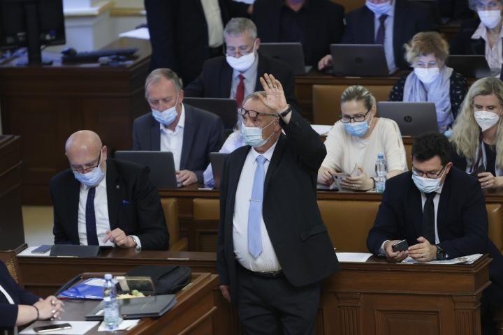 Jednání v poslanecké sněmovně