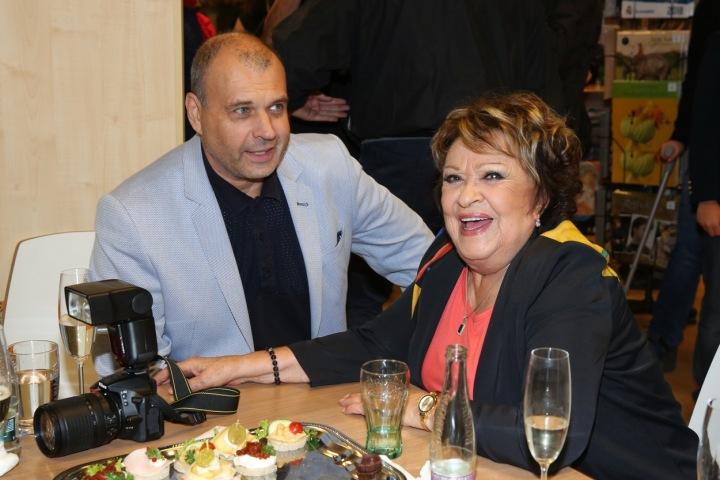 Jiřina Bohdalová a Petr Rychlý