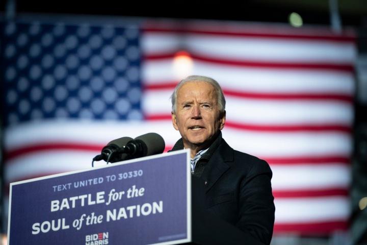 Úřadující americký prezident Joe Biden