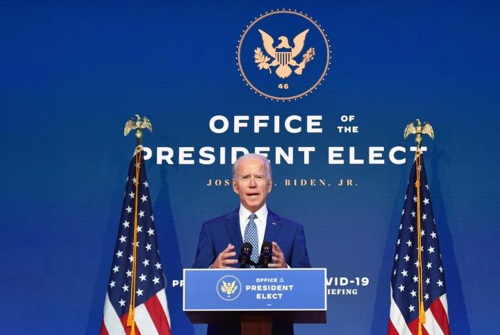 Joe Biden řeční