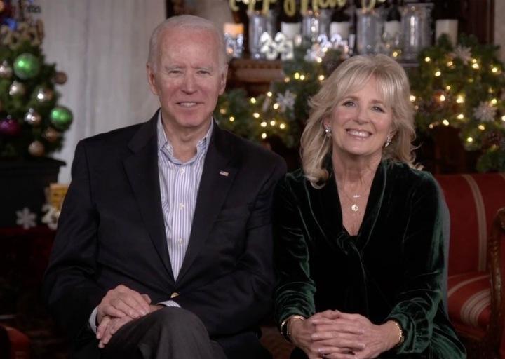Joe Biden s manželkou Jill.