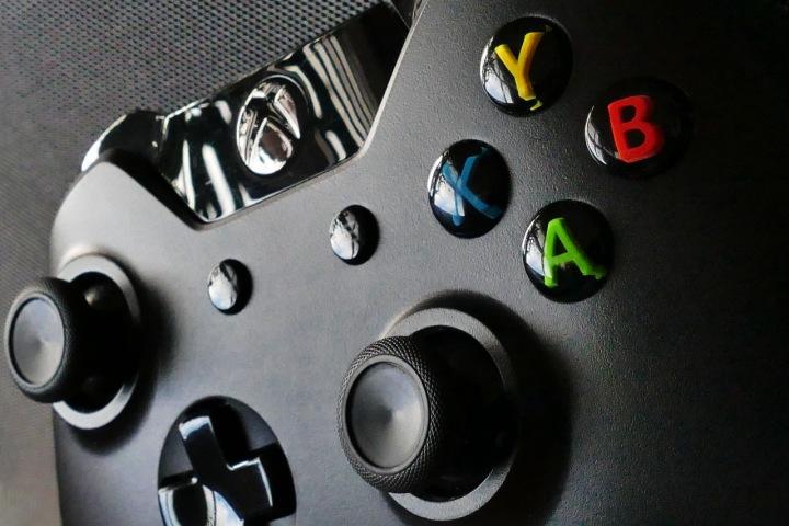 Joystick k ovládání herní konzole Xbox