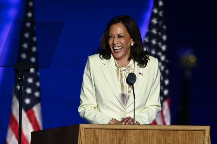 Americká viceprezidentka Kamala Harris
