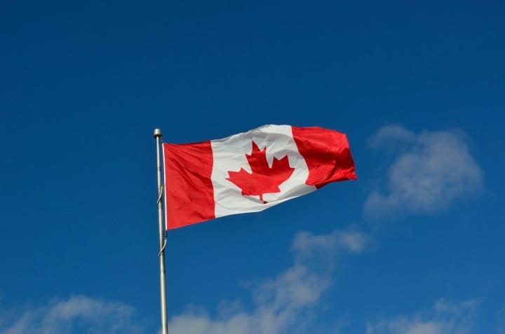 Kanadská vlajka.