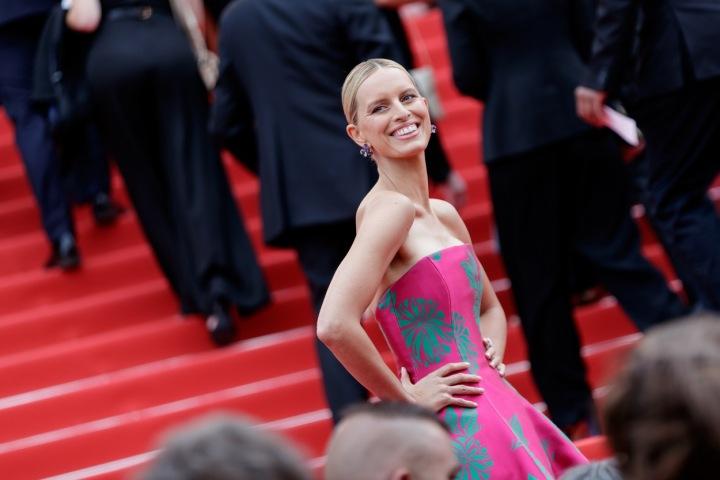 Karolína Kurková v Cannes