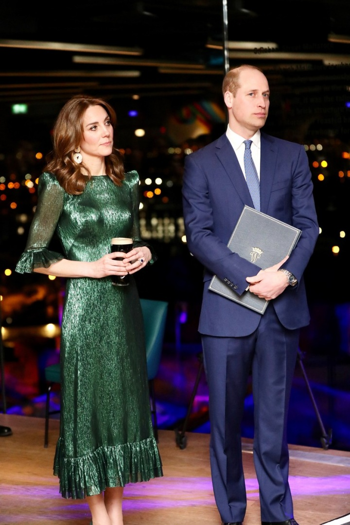 Kate Middleton v šatech The Vampire´s Wife