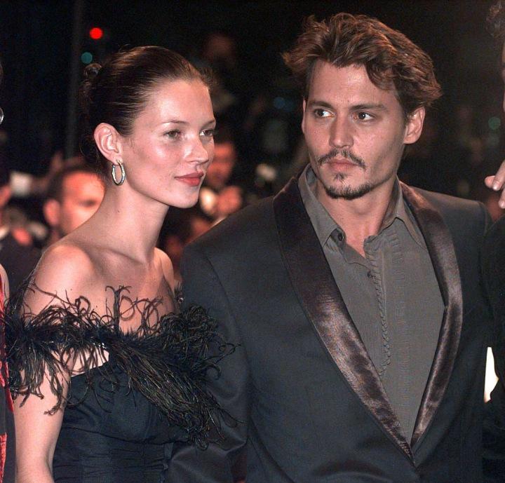 Kate Moss a Johnny Depp.