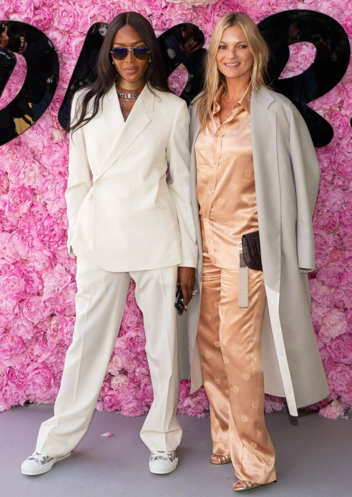 Kate Moss a Naomi Campbell