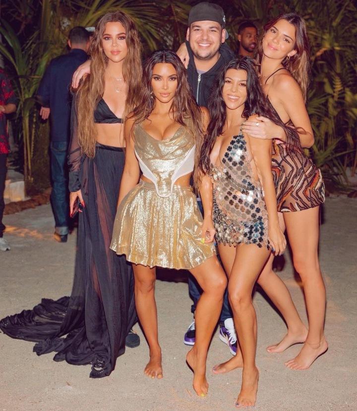 Kim Kardashian a rodina
