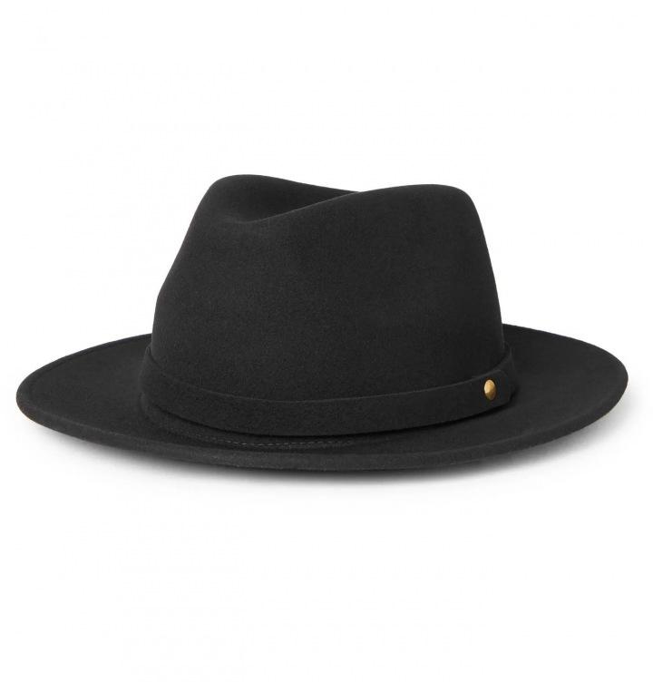 Černý klobouk Lock & Co. Hatters