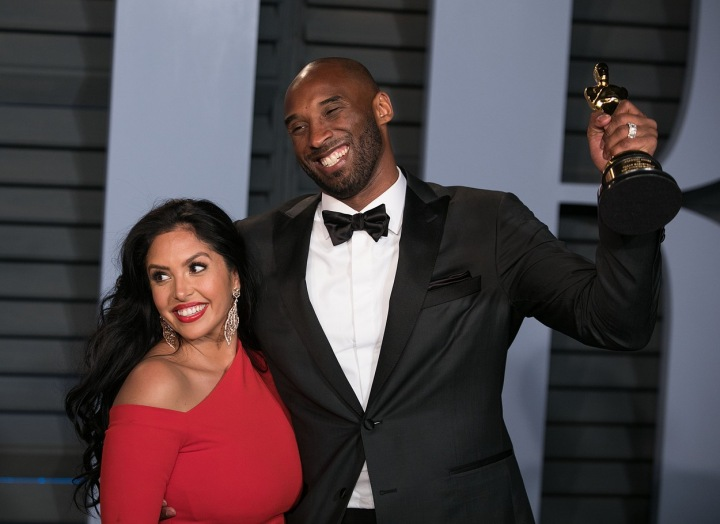 Vanessa a Kobe Bryantovi.