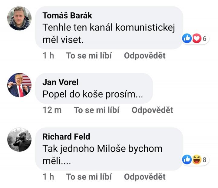 Komentující na Facebooku