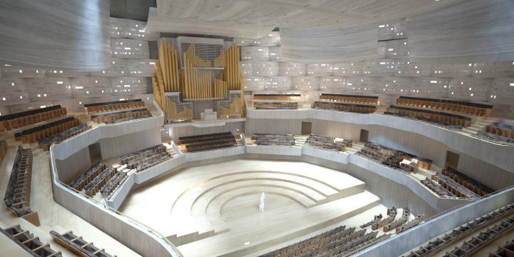 Koncertní sál.