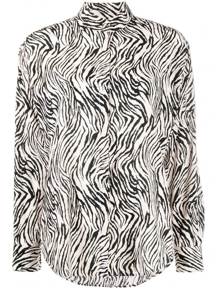 Košile Isabel Marant s motivem zebry