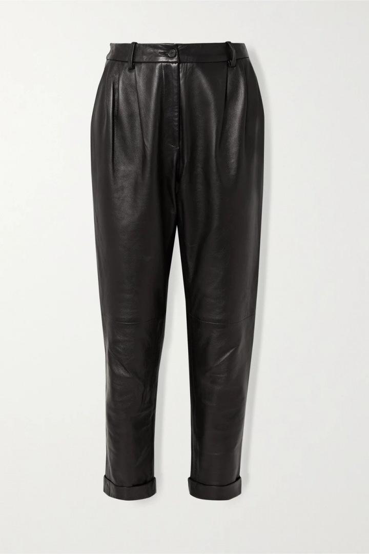 Kožené kalhoty Nili Lotan