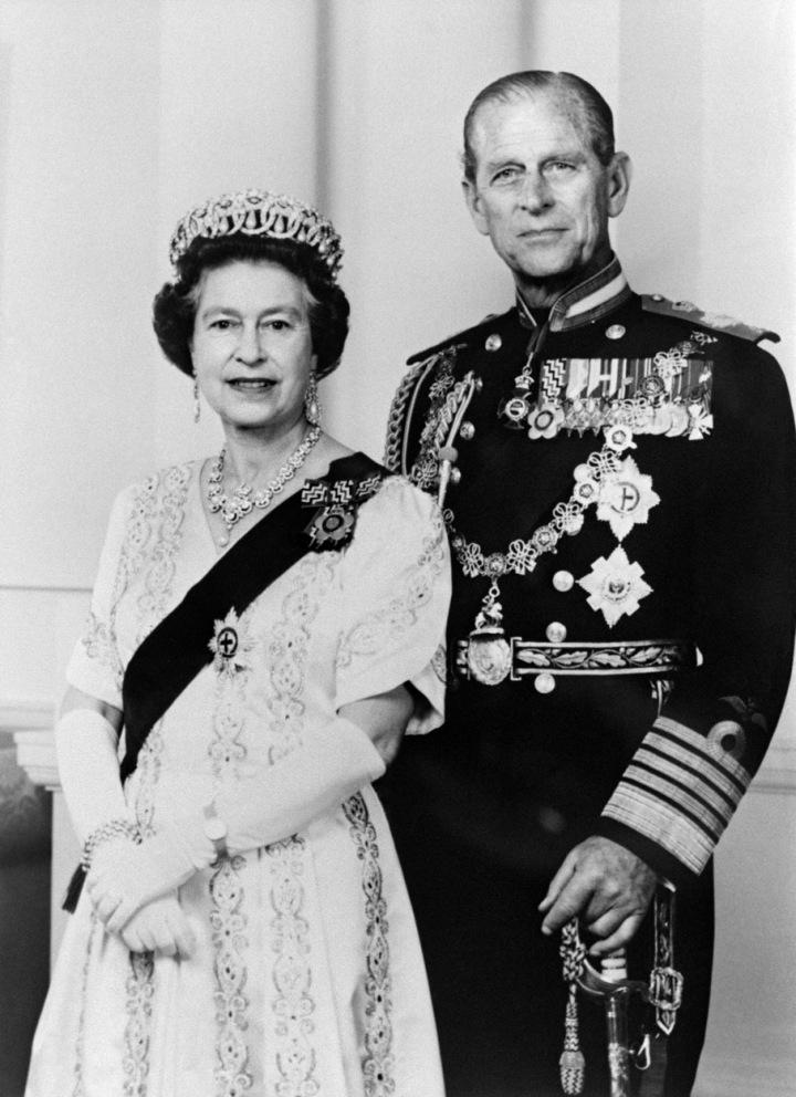Královský manželský pár roku 1987.