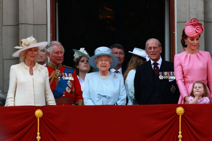 Královská rodina v roce 2017
