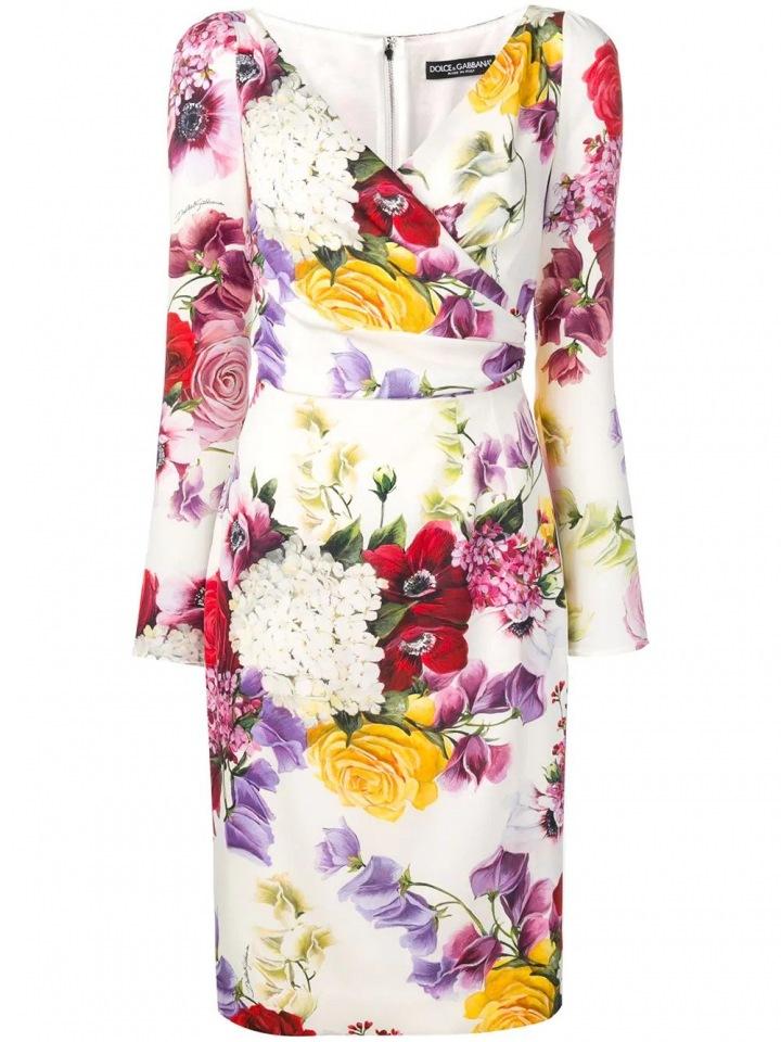 Květinové šaty Dolce & Gabbana