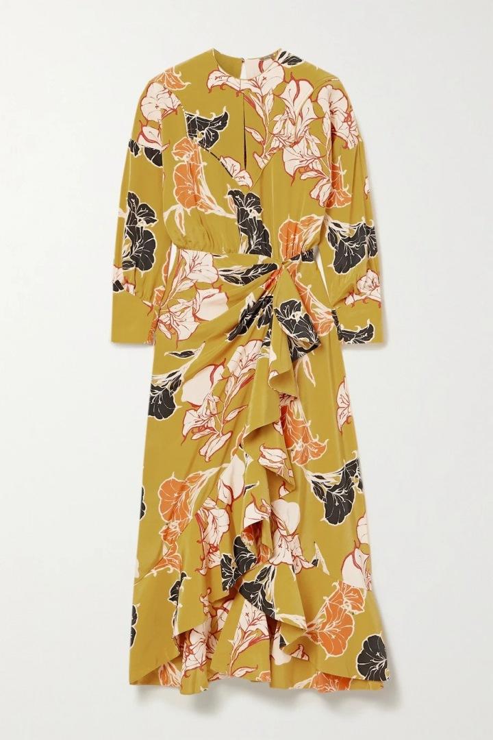 Květinové šaty Johanna Ortiz