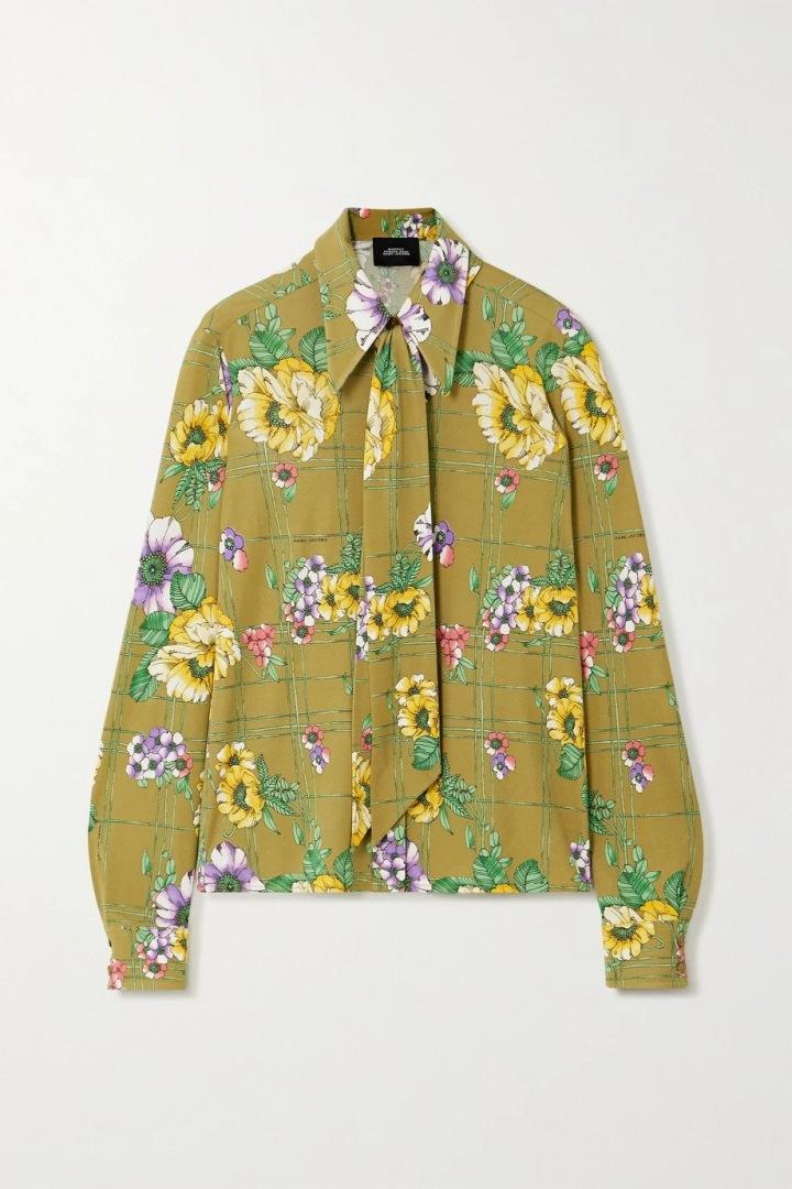 Květinový top Marc Jacobs