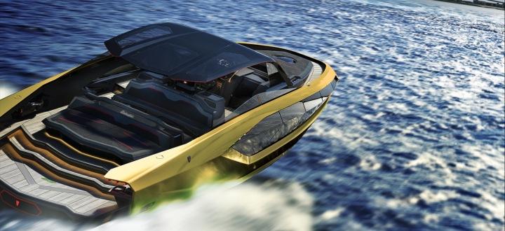 Lamborghini 63 jachta v celé své kráse