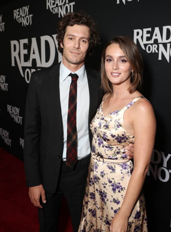 Leighton Meester a Adam Brody.