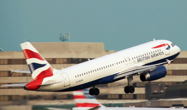 Letadlo společnosti British Airways