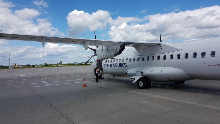 Letadlo českých aerolinií
