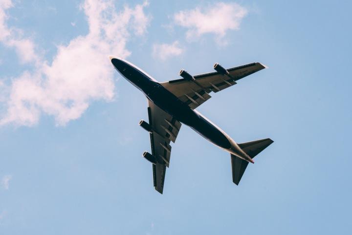 Letadlo ve vzduchu