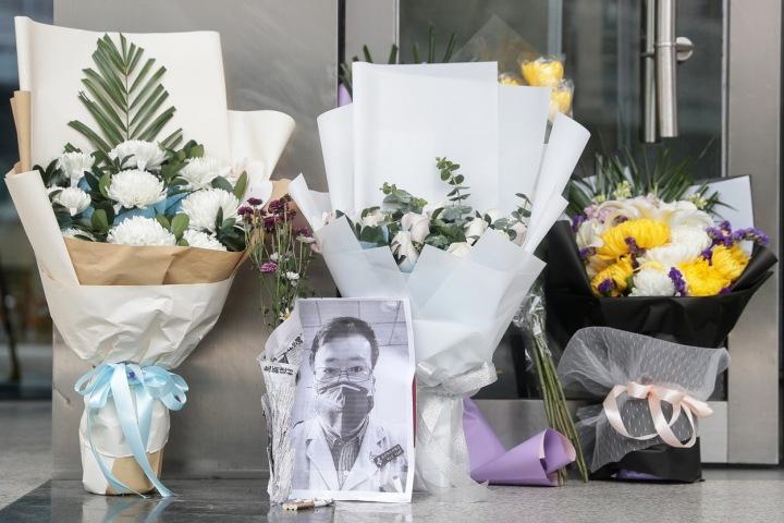 Uctění památky Li Wen-lianga