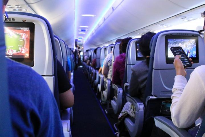 Lidé v letadle