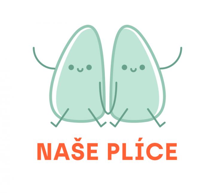 Logo Naše plíce