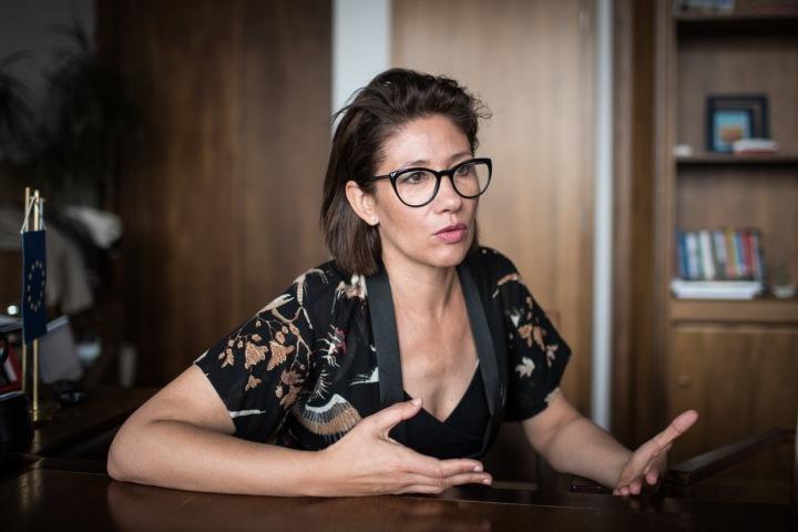 Lucia Ďuriš Nicholsonová, poslankyně Evropského parlamentu.