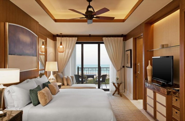 Luxusní hotel v Abu Dhabi.