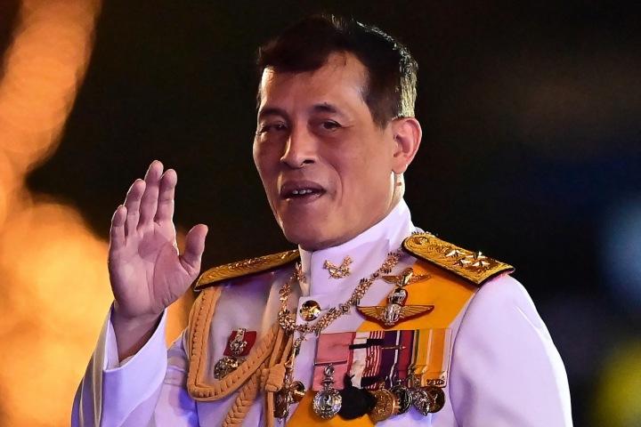 thajský král Maha Vajiralongkorn