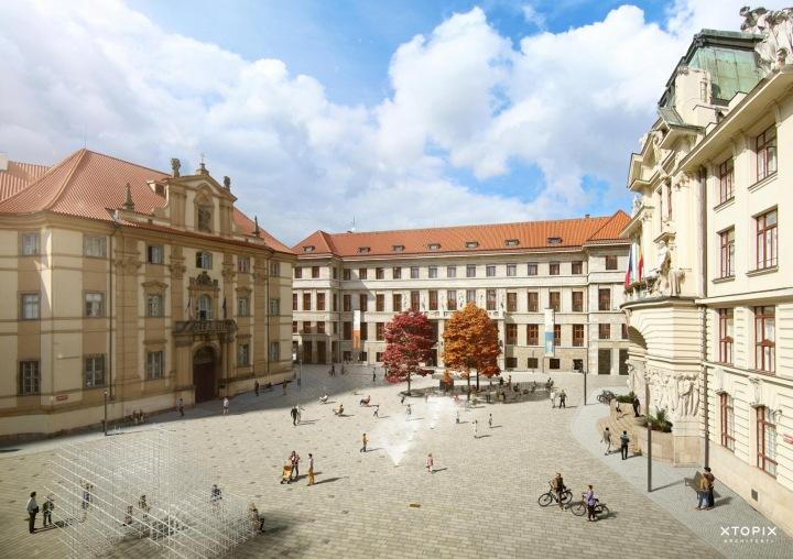 Budoucí podoba Mariánského náměstí.