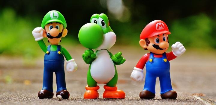 Mario, Luigi a Yoschi od firmy Nintendo