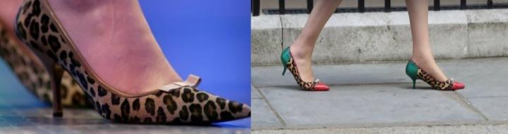 Theresa Mayová má ráda barevné boty