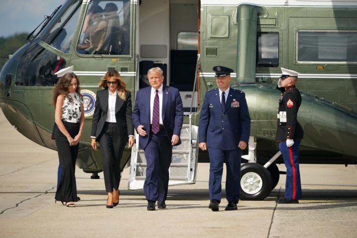 Melania Trump s manželem Donaldem Trumpem