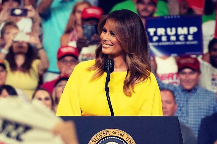 První dáma USA, Melania Trump