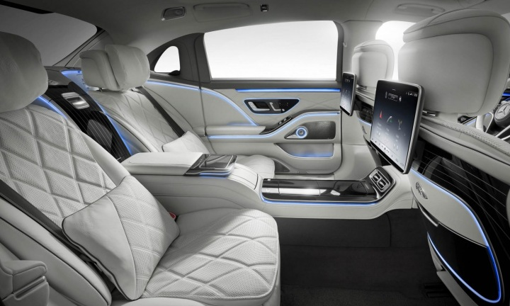Mercedes-Maybach S 580 interiér