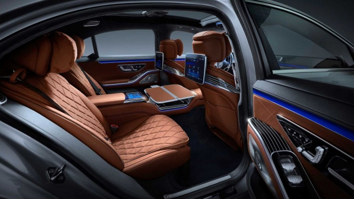 Mercedes třídy S interiér