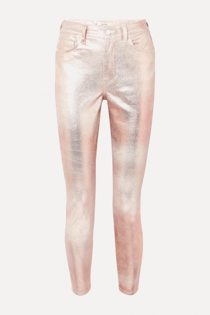 Metalické kalhoty GRLNFRD