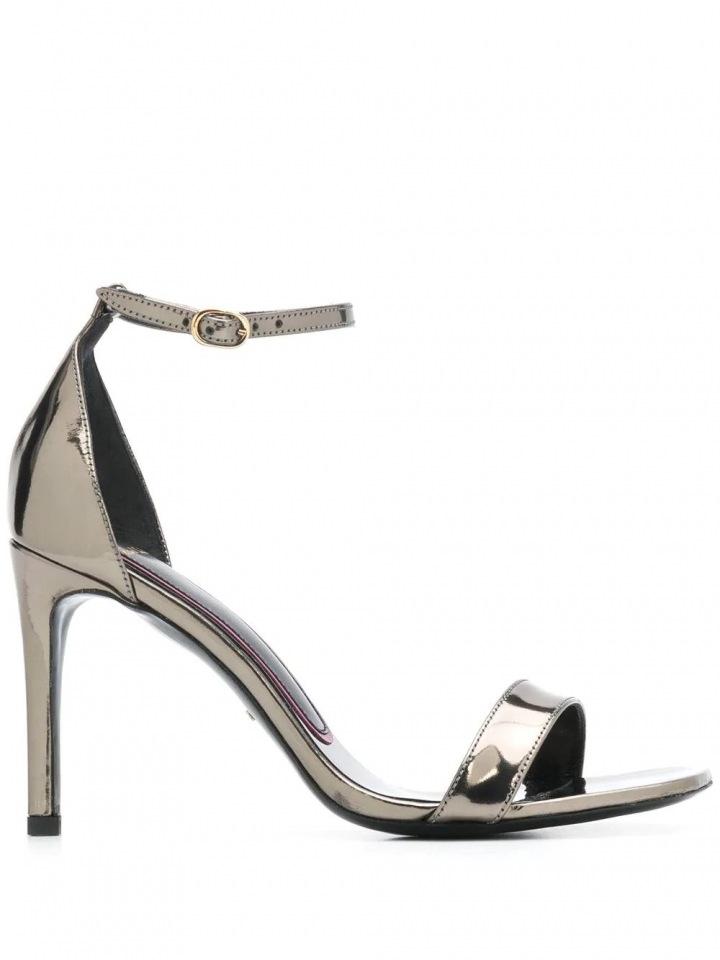 Metalické sandálky Paul Smith